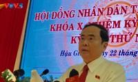 Phó Chủ tịch Thường trực Quốc hội Trần Thanh Mẫn tham dự kỳ họp HĐND tỉnh Hậu Giang