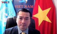 Việt Nam khẳng định buôn bán bất hợp pháp súng nhỏ, vũ khí nhẹ gây tác hại đối với hòa bình, an ninh quốc tế