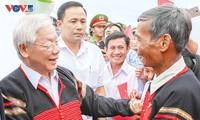 Ciudadanos étnicos esperan las decisiones del XIII Congreso del Partido Comunista