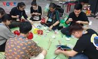 Mittherbstfest im ethnologischen Museum in Hanoi