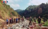 Soldaten der Grenzstation Dam Thuy – Dreh- und Angelpunkt der Volksgruppen im Grenzgebiet