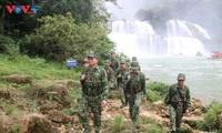 潭水边防站指战员-边境地区少数民族同胞的靠山