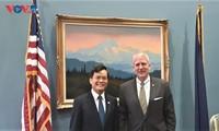 Fortalecen la asociación integral entre Vietnam y Estados Unidos