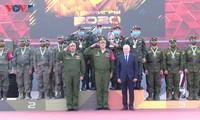 베트남 대표단, Army Games 2020에서 우수한 성적을 거두어…