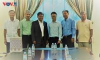 Chuyên gia Đài Tiếng nói Việt Nam luôn trong trái tim những người bạn Campuchia