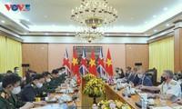 Việt Nam -  Anh thúc đẩy quan hệ hợp tác quốc phòng