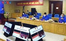 """越中两国青年举行""""我和我的党""""在线对话"""