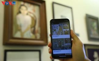 iMseum VFA, une nouvelle application mobile pour visiter virtuellement le musée des Beaux arts du Vietnam