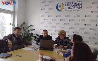 """Hội thảo """"Quan hệ Ðối tác Á - Âu mở rộng"""" tại Liên bang Nga"""