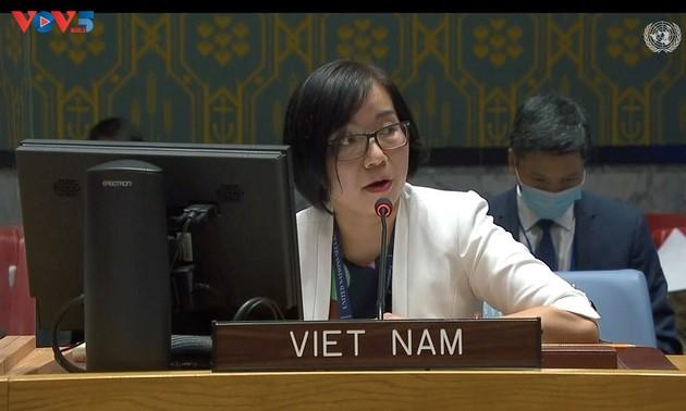 Vietnam llama a impulsar diálogo sobre la cuestión palestina