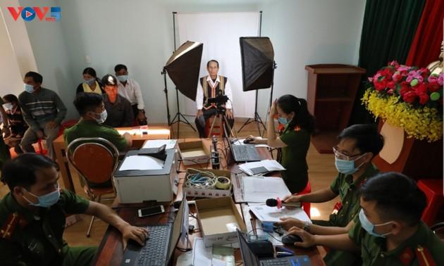 Provinz Gia Lai – elektronischer Personalausweise in Tay Nguyen in Aussicht