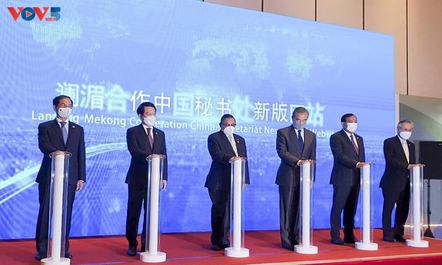 Sixième conférence des ministres des Affaires étrangères Mékong-Lancang