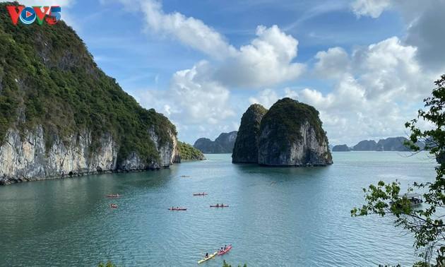 Teluk Ha Long lolos masuk ke Besar 50 Keajaiban  yang paling indah  di dunia