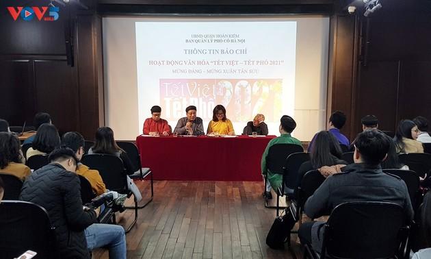 "Program ""Hari Raya Tet Viet Nam-Hari Raya Tet Jalanan 202"" di Sektor  Kuno Kota Ha Noi"