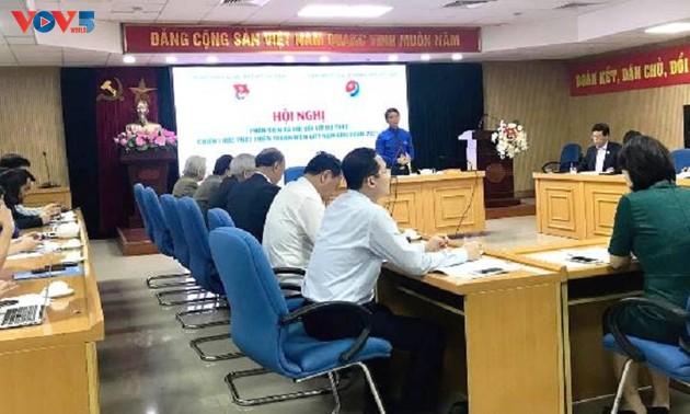 Promueven el papel de los jóvenes vietnamitas en el cumplimiento de los objetivos nacionales para 2045