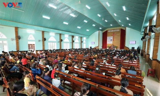 ザライ省における信仰の自由権の確保