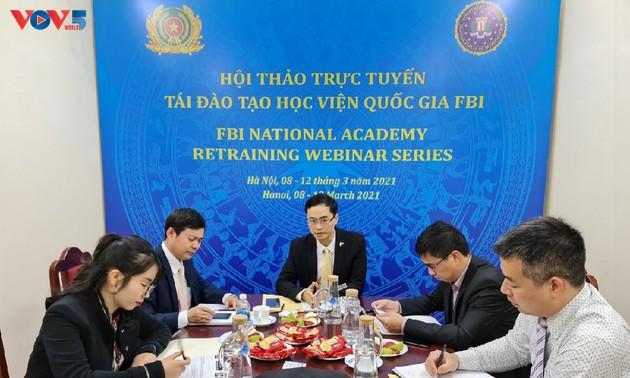Việt Nam và Hoa Kỳ tăng cường hợp tác trong lĩnh vực an ninh