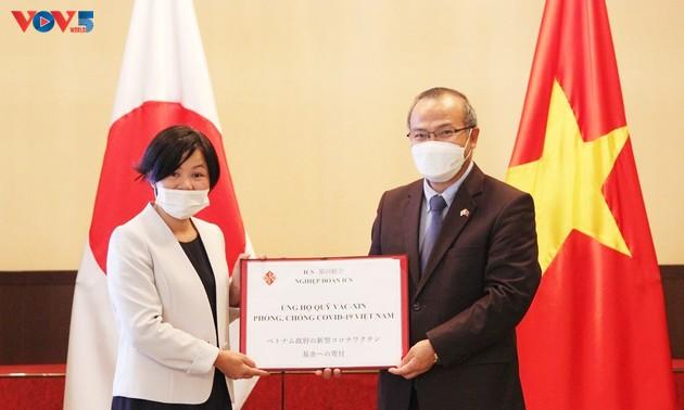 Thêm nhiều tổ chức, cá nhân Nhật Bản ủng hộ quỹ vaccine phòng chống COVID-19 của Việt Nam