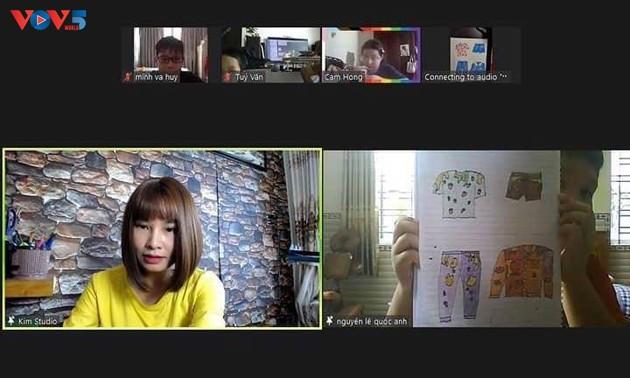 Giãn cách, học vẽ online miễn phí cùng chuyên gia Nguyễn Hải Kim