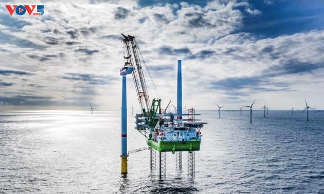 Desplegarán un megaproyecto de energía eólica marina en Vietnam