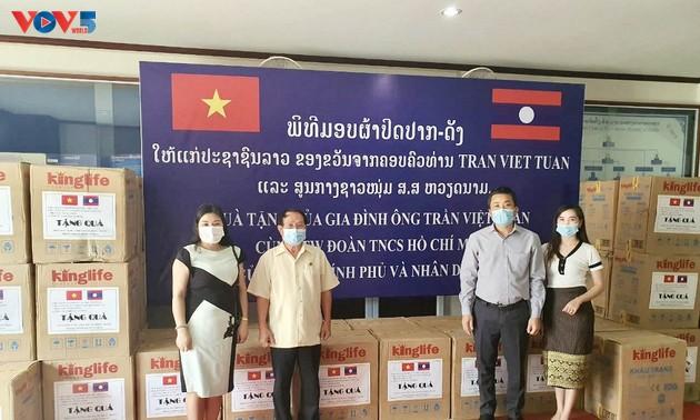 Đoàn chuyên gia quân y Việt Nam hoàn thành xuất sắc nhiệm vụ giúp Bộ Quốc phòng Lào phòng chống dịch COVID-19