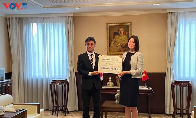 Ngân hàng Aozora Nhật Bản ủng hộ quỹ vaccine của Việt Nam