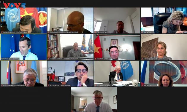 Việt Nam chủ trì cuộc họp Nhóm bạn bè của Công ước Liên Hợp Quốc về Luật Biển