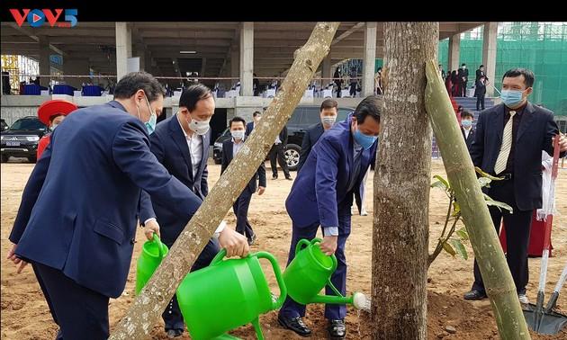 Судебная отрасль развернула кампанию по посадке деревьев по случаю лунного нового года