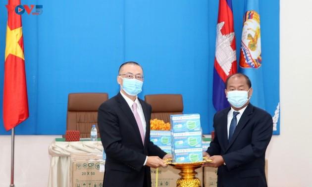 Việt Nam – Campuchia chung tay đẩy lùi dịch bệnh COVID-19