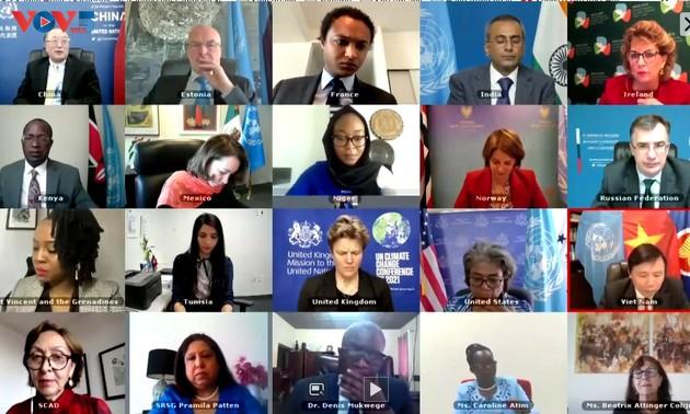 Việt Nam thúc đẩy Hội đồng bảo an Liên Hợp Quốc giải quyết vấn đề bạo lực tình dục trong xung đột