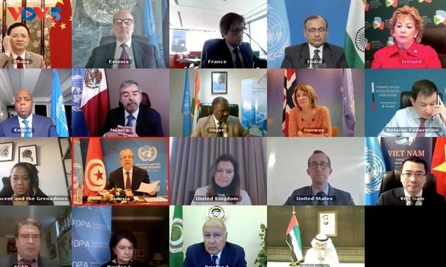 Vietnam respalda el fortalecimiento de la cooperación entre la Liga Árabe y la ONU