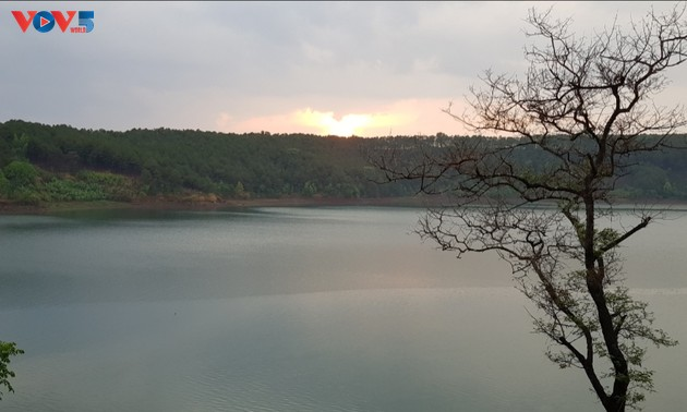 Bien Ho, a freshwater lake 800 meters above sea level