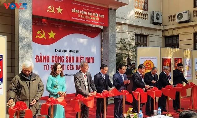 Hanoi exhibit spotlights Party Congresses