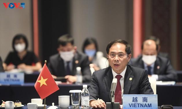 Réunion extraordinaire des ministres des Affaires étrangères ASEAN-Chine