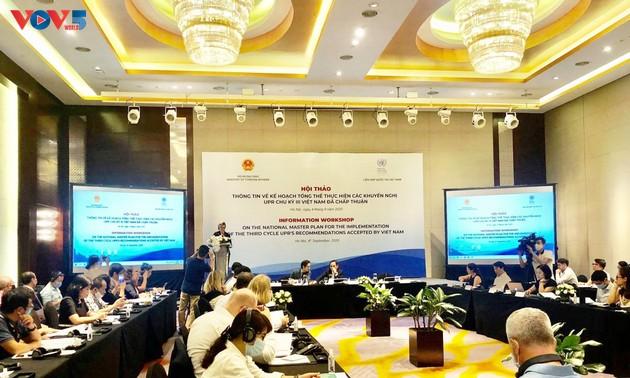 Việt Nam được cộng đồng quốc tế đánh giá cao về kinh nghiệm tham gia cơ chế UPR