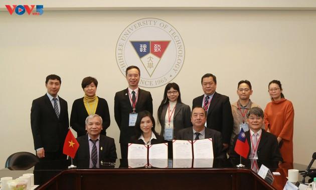 Đại học Kỹ thuật Chihlee - Đài Loan (Trung Quốc) hợp tác đào tạo nhân tài với Đồng Tháp