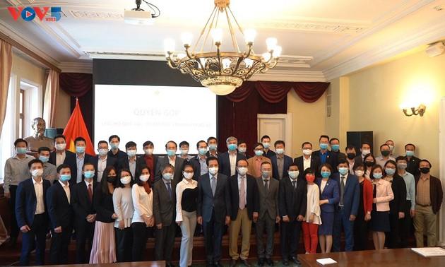 Người Việt Nam tại LB Nga chung tay ủng hộ Quỹ vaccine phòng, chống dịch Covid-19