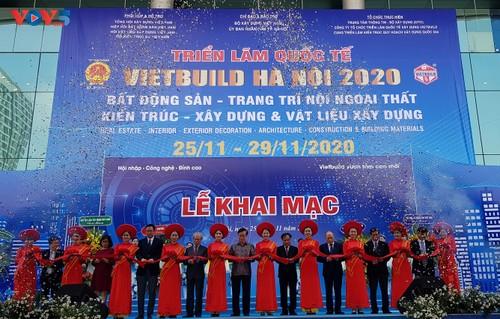 Vietbuild Hanoi International Exhibition 2020 opens - ảnh 1