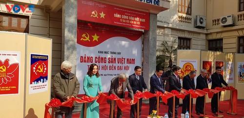 Exhiben objetos que reflejan los doce Congresos Nacionales del Partido Comunista de Vietnam - ảnh 1