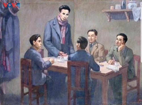 Exhiben objetos que reflejan los doce Congresos Nacionales del Partido Comunista de Vietnam - ảnh 2
