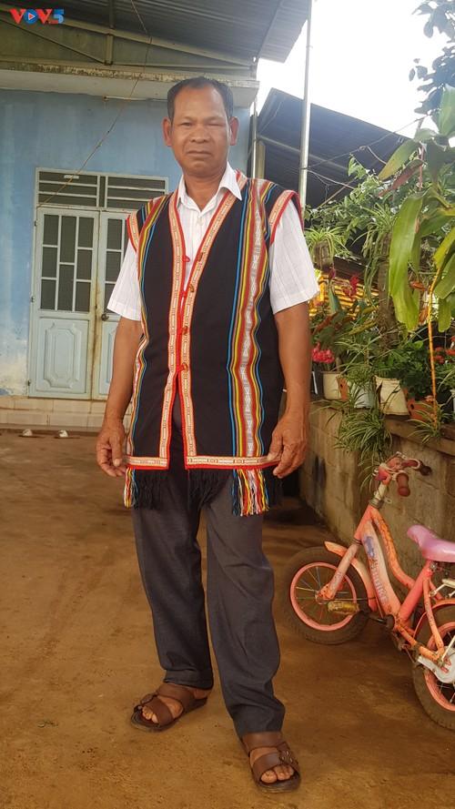 R'Com Tin, una figura influyente en Ia Der - ảnh 1