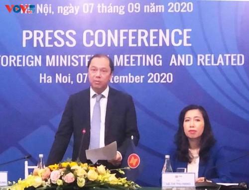 Việt Nam sẵn sàng đảm bảo cho Hội nghị AMM-53 và các hội nghị liên quan thành công - ảnh 1