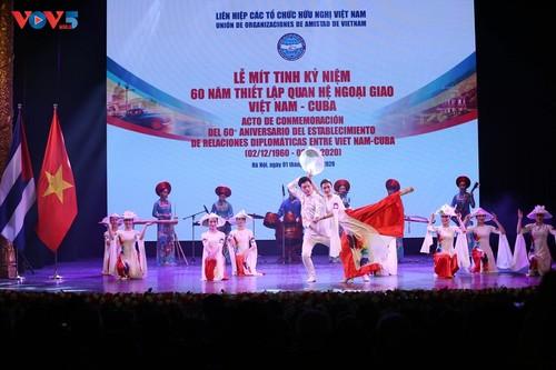 Mít tinh kỷ niệm 60 năm thiết lập quan hệ ngoại giao Việt Nam - Cuba - ảnh 3
