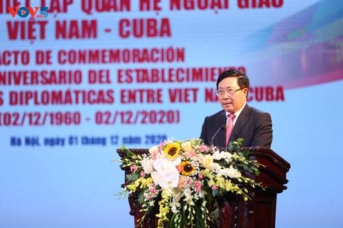Mít tinh kỷ niệm 60 năm thiết lập quan hệ ngoại giao Việt Nam - Cuba - ảnh 2