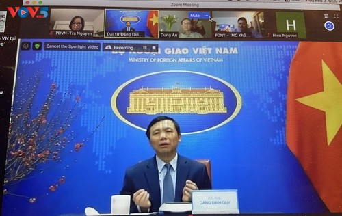 Cộng đồng người Việt tại New York gặp mặt trực tuyến đón Xuân Tân Sửu 2021 - ảnh 2