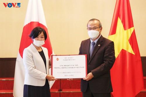 Thêm nhiều tổ chức, cá nhân Nhật Bản ủng hộ quỹ vaccine phòng chống COVID-19 của Việt Nam - ảnh 2