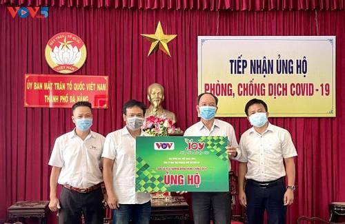 """VOV trao quà """"San sẻ yêu thương- Đồng hành chống dịch"""" tại các tỉnh miền Trung - ảnh 1"""
