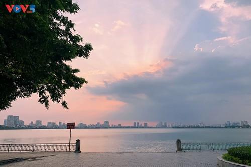 Hồ Tây những ngày giãn cách xã hội - ảnh 15