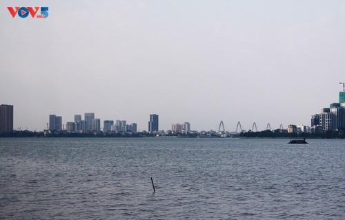 Hồ Tây những ngày giãn cách xã hội - ảnh 7