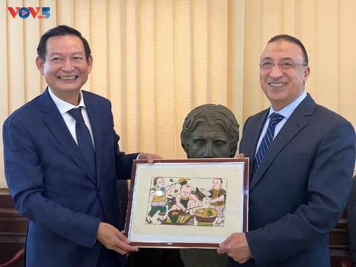 Việt Nam và Ai Cập: tăng cường hợp tác cảng biển và thương mại - ảnh 1